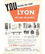 1947 Lyon Metal products advertising print ad - $10.00