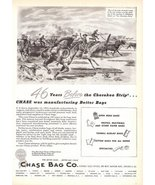 1947 Chase Bag Co Manufacturing Better Bags print ad  - $10.00