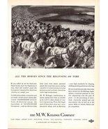 1947 M.W. Kellogg Co power piping engineering print ad - $10.00
