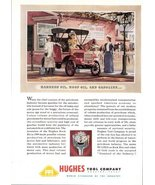 1947 Hughes Tool Company oil & gasoline advertising print ad - $10.00
