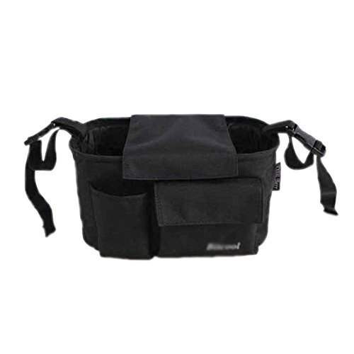 "Hot Sale Baby Stroller Organizer Pushchair Storage Bag 11.8""x5.9""x6.3""BLACK"