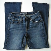 American Eagle Vintage Boot  Women's Jeans Size 2 Distressed Wash - $21.99