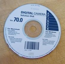 Canon Digital Camera Solution Disk Ver. 70.0 Mac Windows - $9.89