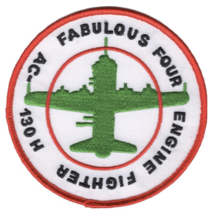 """4"""" Air Force Lockheed AC-130H Fabulous Four Engine Fighter Embroidered Patch - $23.74"""