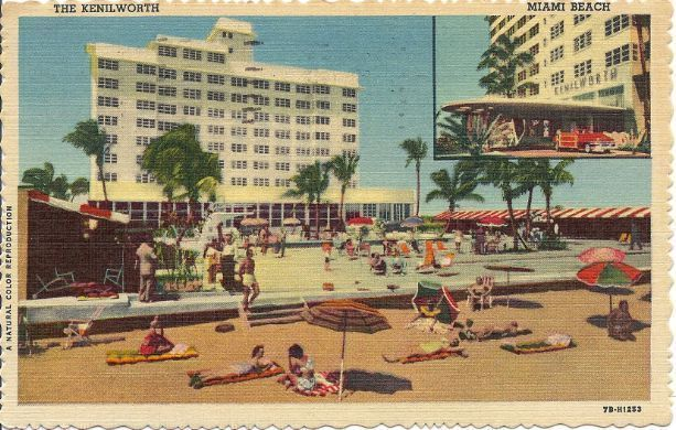 1956 - Kenilworth Hotel - Miami Beach FL  - Used