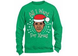 Christmas Obama Sweatshirt. All I Want for Xmas Is Obama. Funny Christma... - $24.99+