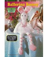 Y152 Crochet PATTERN ONLY Ballerina Bunny Toy D... - $8.45