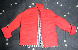 Vintage Red Jacket For Barbie - $9.95