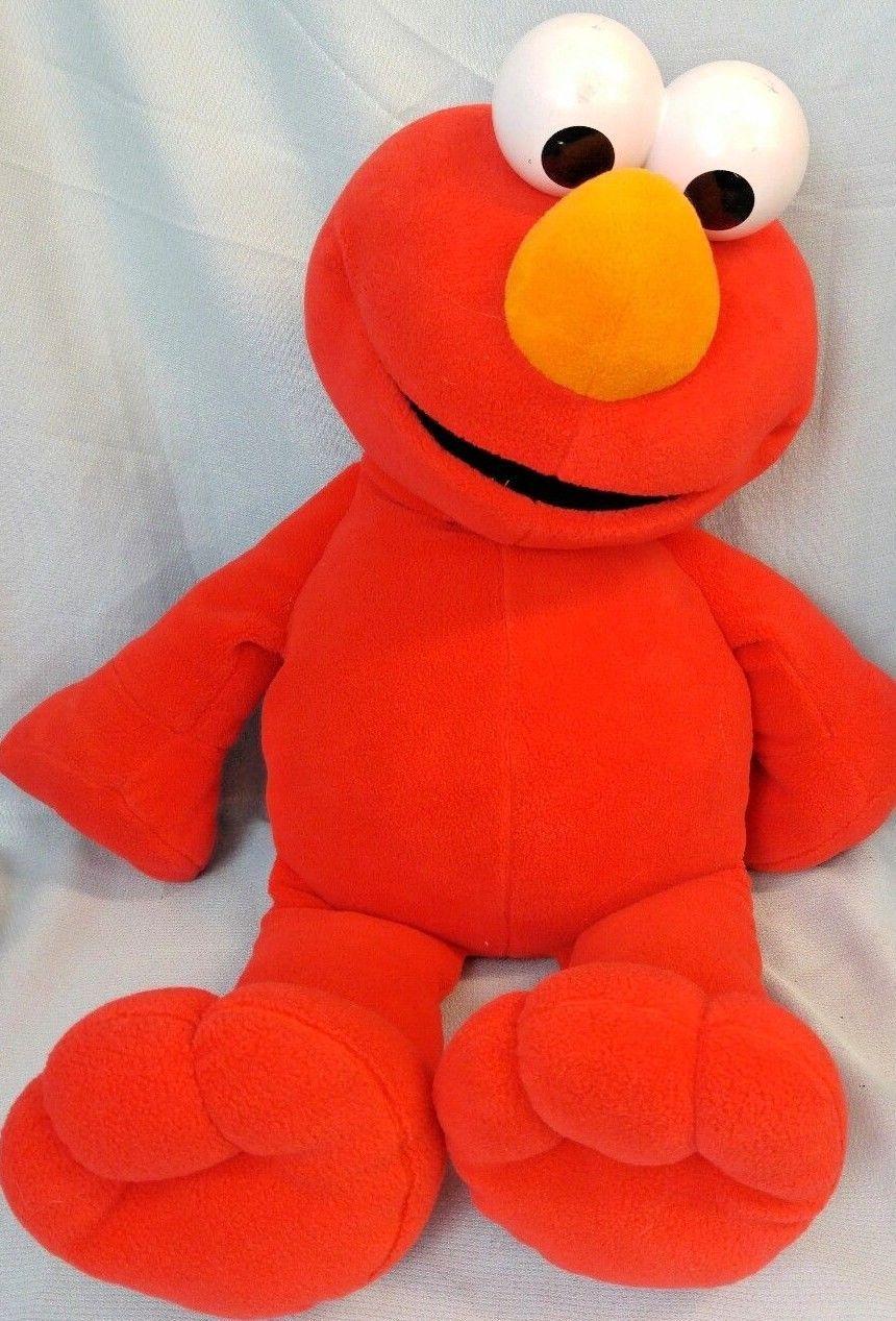 Fisher Price Sesame Street Big Elmo Plush And 50 Similar Items