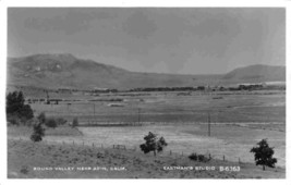 Round Valley near Adin California 1950s Real Photo RPPC postcard - $7.87