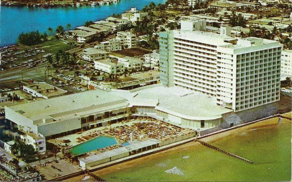 Primary image for 1958 - Fabulous New Deauville Hotel on Miami Beach  - Used