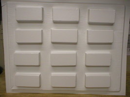 "24 Brick Paver Molds Supply Kit Make Patio Garden Pavers #P481 4""x8"" For $.20 Ea image 2"