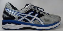 Asics GT 2000 v 4 Size US 13 M (D) EU 48 Men's Running Shoes Blue Silver T606N