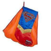 Supergirl™ Printed Applique Stocking w - $17.99