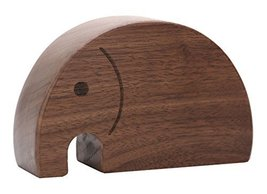 Unique Elephant Shape Wooden Music Box Melody Carrying You from Castle in the Sk - £29.40 GBP
