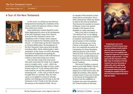 The New Testament Canon (Lecture Guide)