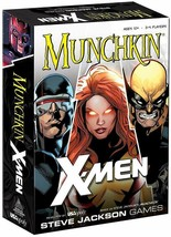 New Munchkin Marvel X-Men Edition Card Game Steve Jackson Games USAopoly - $6.80
