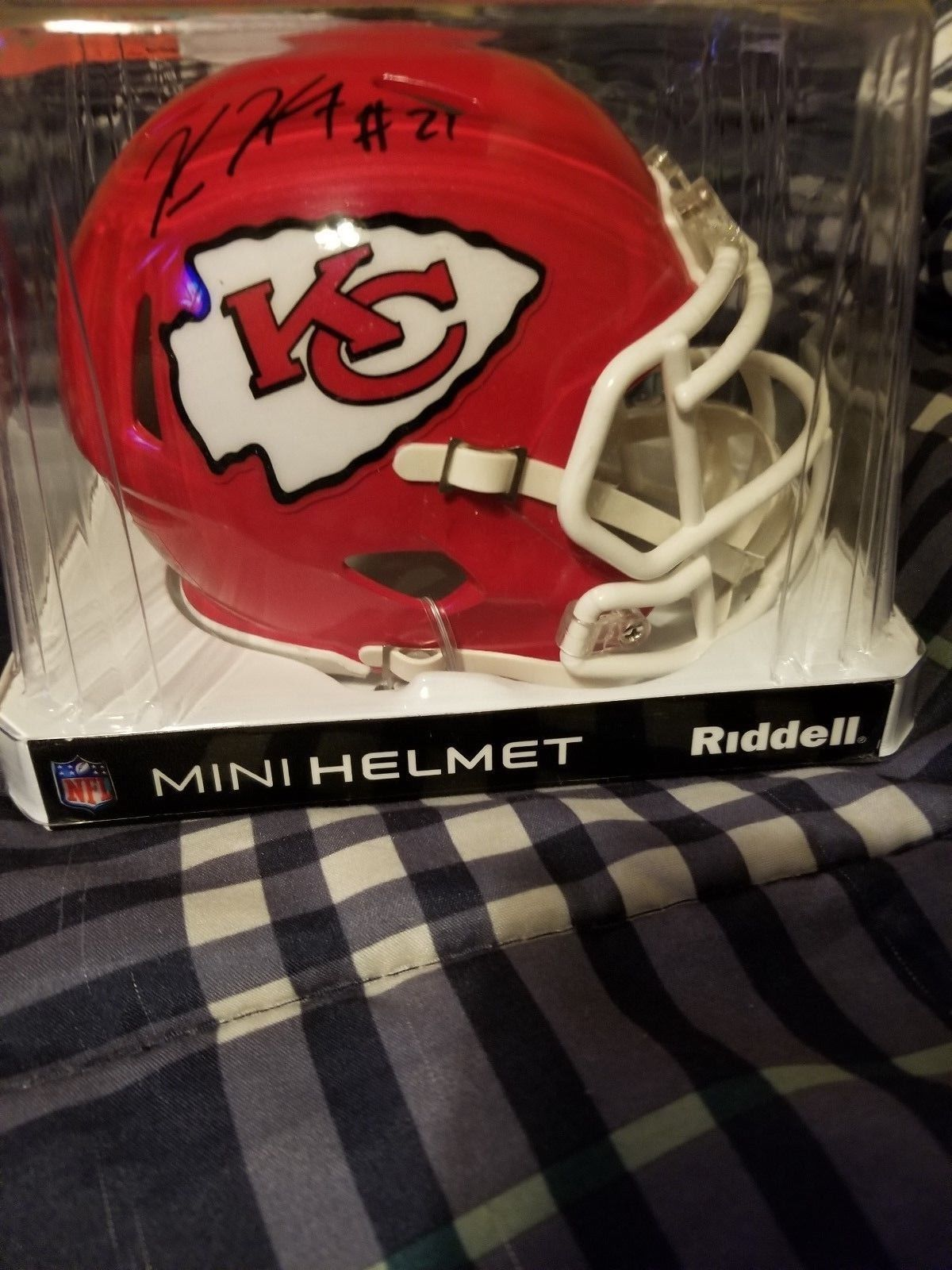 3a123741 Kareem Hunt Autographed/Signed Kansas City and similar items