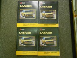 2003 Mitsubishi Lancer Réparation Shop Manuel Usinage Oem 4 Vol Set Livre X - $325.84