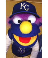 """CRAFT SHOW EXCLUSIVE PRICE: Professional Muppet Style """"KC Royals Fan"""" Pu... - $50.00"""