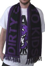DGK Skateboarding Black Purple Bold Cold Weather Winter Scarf DIRTY GEHTTO KIDS
