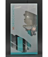 Moroccan Oil Treatment 3.4 oz with Thermal Paddle Brush, Authentic - $49.99