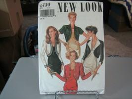 New Look 6130 Misses Short Bolero Jackets Pattern - Size 6-16 - $7.91