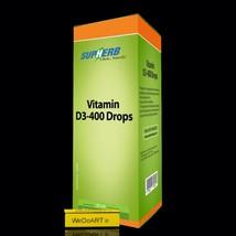 SUPHERB Vitamin D3-400 | Drops 20ml - $35.64