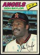 1977 Topps #462 Don Baylor EX-MT - $0.99