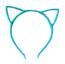 Cat Ear Headband Hair Hoop Hair Band Makeup Headwear Fashion Headbands - F - $10.37