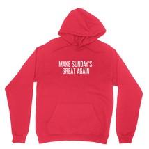 Make Sundays Great Again Shirt Funny Tiger Golf Unisex Red Hoodie Sweatshirt - $24.95+