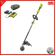Cordless String Trimmer 40V With 4.0 Ah Battery And Charger Hand Held - $207.04