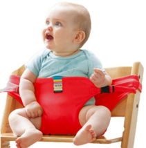 Chair Portable Seat Dining Lunch Chair Seat Safety Belt Stretch Wrap Fee... - $12.99
