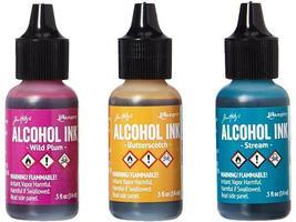 Ranger-Tim Holtz Adirondack Alcohol Inks, 3 Pack image 2