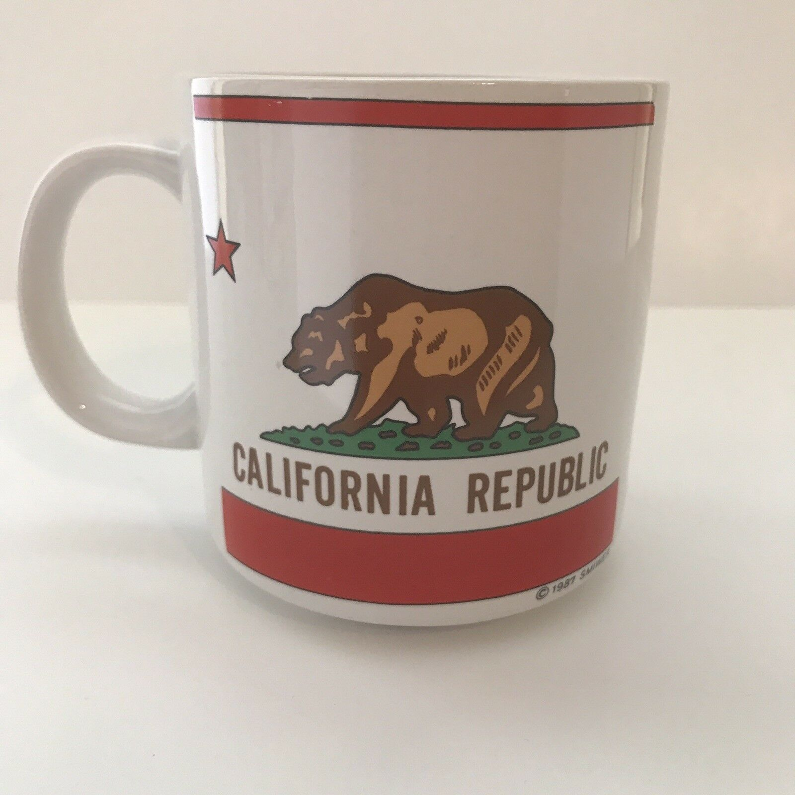 Primary image for California Republic Cup Mug 8 Oz 1987 Smiwes
