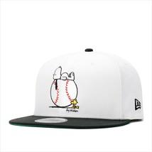 New Era Peanuts collaboration cap Snapback 9FIFTY SNOOPY ON BALL White /... - $90.99