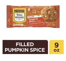 NEW NESTLE TOLL HOUSE PUMPKIN SPICE FLAVORED FILLED BAKING TRUFFLES 9 OZ... - $8.90