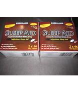 Sleep Aid Kirkland 2-192 Boxes Tablets - $20.57