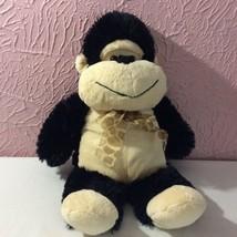 "Goffa Gorilla Plush Stuffed Animal 20"" Monkey Black Tan  - $14.85"