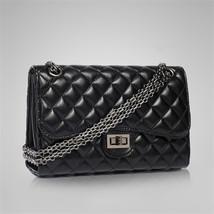 2017 womens messenger bags famous handbag PU leather lady shoulder bags black cl - $43.82