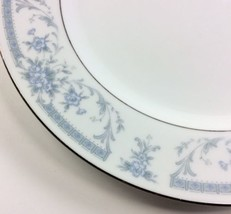 Blue Whisper SHEFFIELD CHINA Floral Dinner Plate Dish 10.25 inches diameter - $8.66