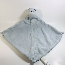Angel Dear Hippo Lovey Security Blanket Stitched Corners - $9.99