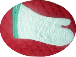 The Best Quilted Oven Mitts & Pot Handles on eBay!! Handmade Pale Green ... - $7.50