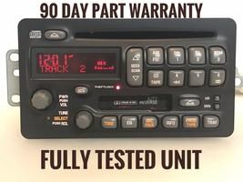 """GM773"" GM Pontiac Aztek Grand AM Montana Radio Cassette Single CD Radio Player - $68.56"