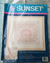 Sunset Fancy Fan Needlepoint kit 12053 - $49.99
