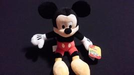 Disney Mickey Mouse Soft Bean Bag Plush Toy - $15.00