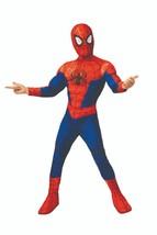 Spider Man Nella Spider-Verse Deluxe Peter Parker Costume Halloween 701435 - $36.79