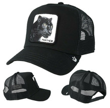 Goorin Bros Snapback Mesh Cap Black Panther Cat Mesh Trucker Hat 101-0465