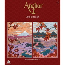 Serenity and Tranquillity (Set of 2) Long Stitch Kit from Anchor AL79520 - $66.53