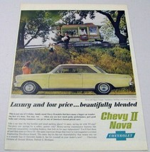 1962 Print Ad Chevy Nova 400 Sport Coupe Chevrolet Wagon Nut Vendor - $12.32